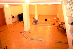 Výstavba vnútorných priečok